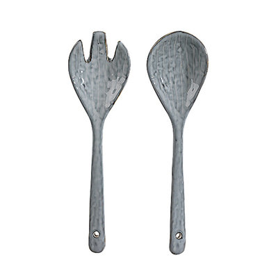 Broste Copenhagen - Nordic Sea - Salad serving set