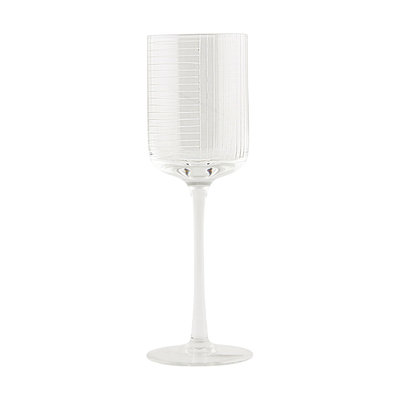 House Doctor - Check - Red wine glass