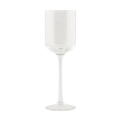 House Doctor - Check - White wine glass