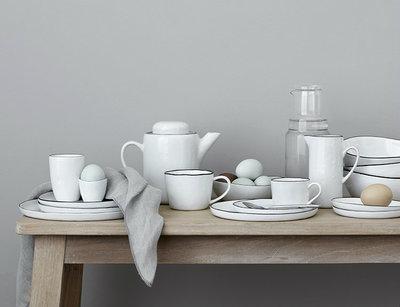 Broste Copenhagen - Salt - Plate oval Small