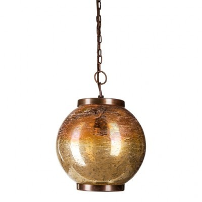 PTMD - Luce Glass round hanging lamp