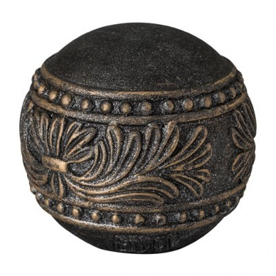 PTMD - Rustic Deco ball black Small