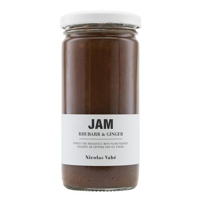 Nicolas Vahé - Jam with rhubarb & ginger