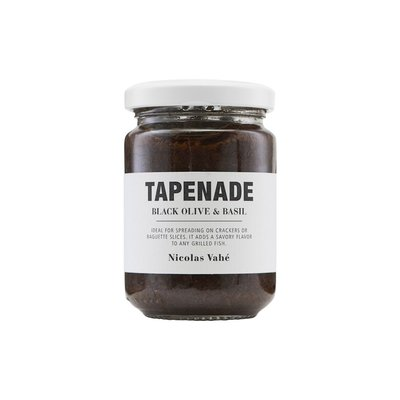 Nicolas Vahé - Tapenade with black olive & basil