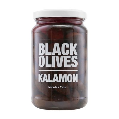 Nicolas Vahé - Black olives with kalamon