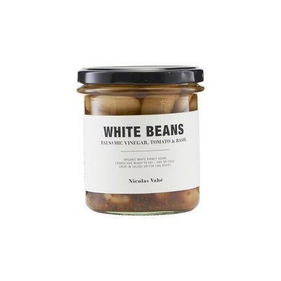 Nicolas Vahé - White beans with balsamic vinegar, tomato & basil