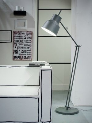 It's About RoMi - Floor lamp Belfast Greygreen