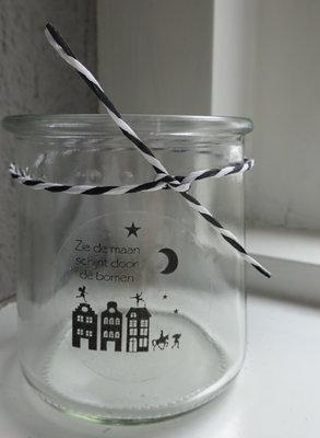 (Op) de Maalzolder - Tealight Zie de maan schijnt
