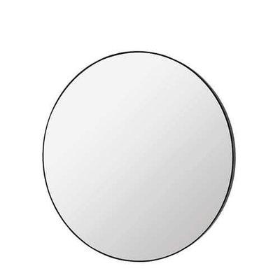 Broste Copenhagen - Mirror Complete Round Black Large
