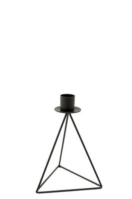 MrsBloom - Candle holder Christian black