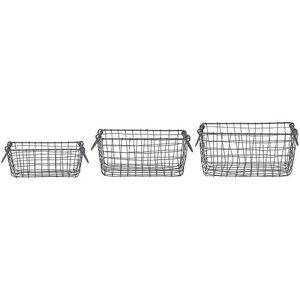 Esschert Design - Wire baskets s/3