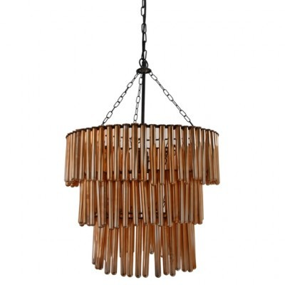 PTMD - Lamp hanging Doily Ruby