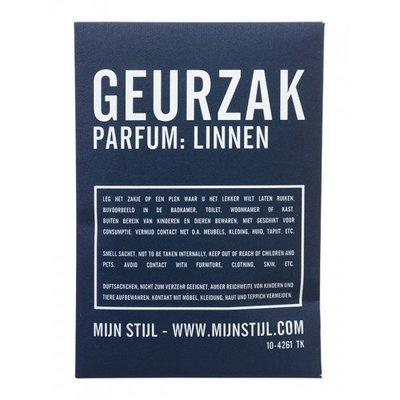 Mijn Stijl - Scented bag Linen blue