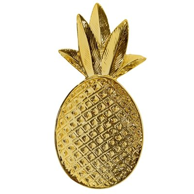 Bloomingville - Tray Pineapple Gold