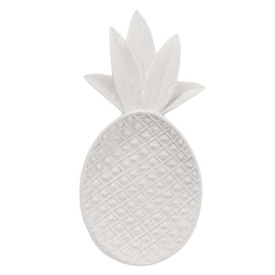 Bloomingville - Tray Pineapple White