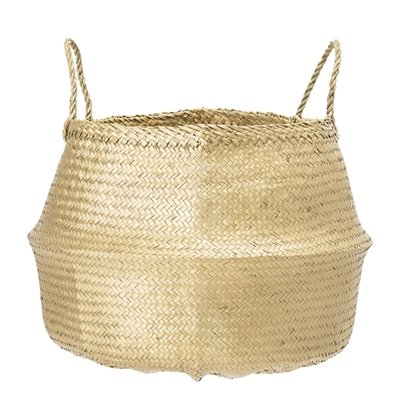 Bloomingville - Basket Seagrass Gold L