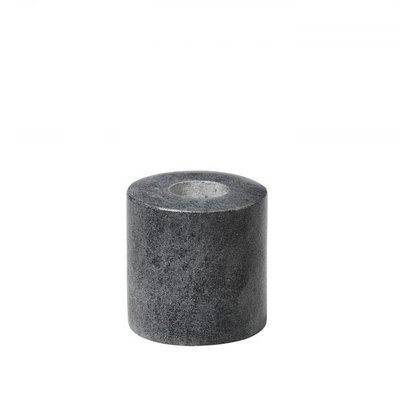 Broste Copenhagen - Candlestick Ylwa Grey Small