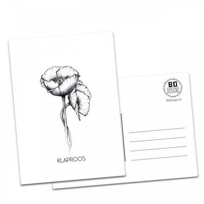 BDdesigns - Card Poppy