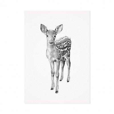 Mélisse - Card The deer