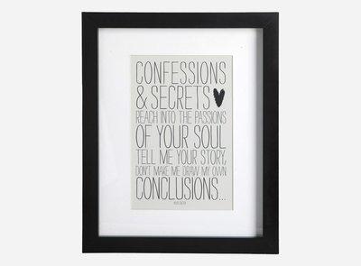 House Doctor - Frame w. pas par tout, Confessions & Secrets