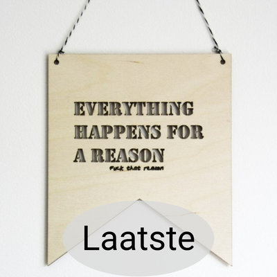 Lotjedotje - Banner Everything happens for a reason, large