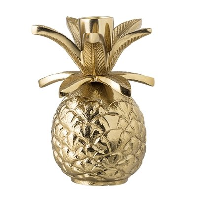 Bloomingville - Candlestick Pineapple gold