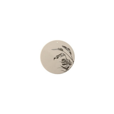 Bloomingville - Deco plate Sooji grey