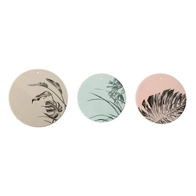 Bloomingville - Deco plate Sooji grey