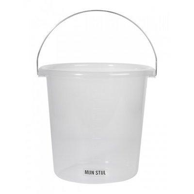 Mijn Stijl - Bucket transparent