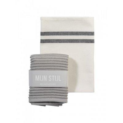 Mijn Stijl - Dishcloth Light grey