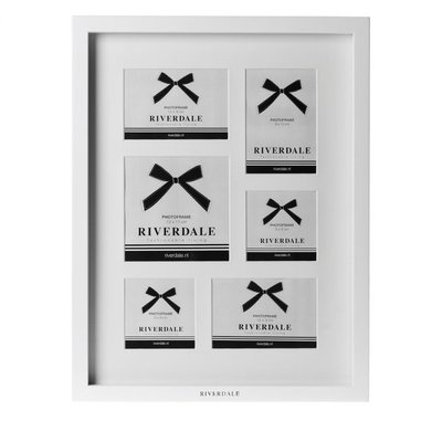 Riverdale - Photo frame Fashion vertical white